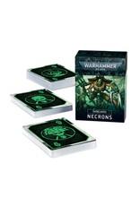Warhammer 40k DATACARDS: NECRONS (ENGLISH)
