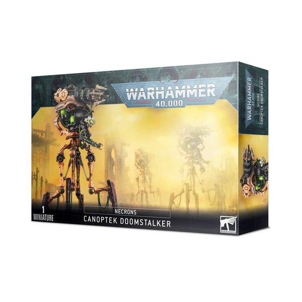 Warhammer 40k NECRONS CANOPTEK DOOMSTALKER