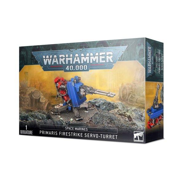 Warhammer 40k SPACE MARINES FIRESTRIKE SERVO-TURRET