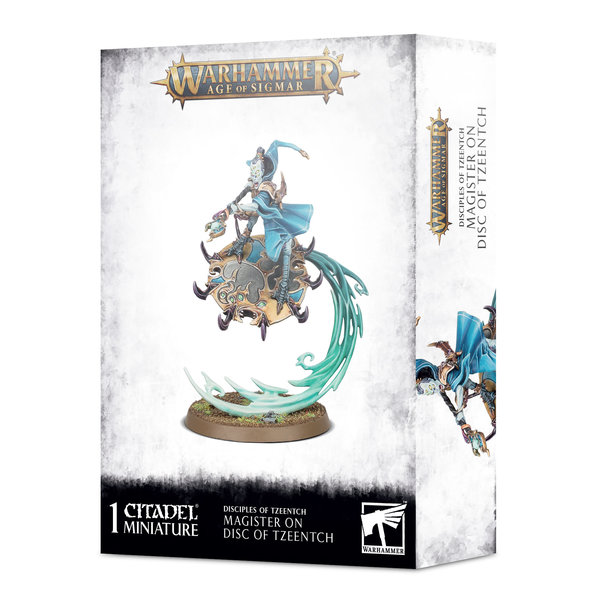 Age of Sigmar MAGISTER ON DISC OF TZEENTCH