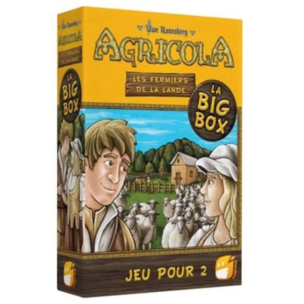Funforge AGRICOLA : BIG BOX 2 JOUEURS - JEU DE BASE + 2 EXT. (FR)