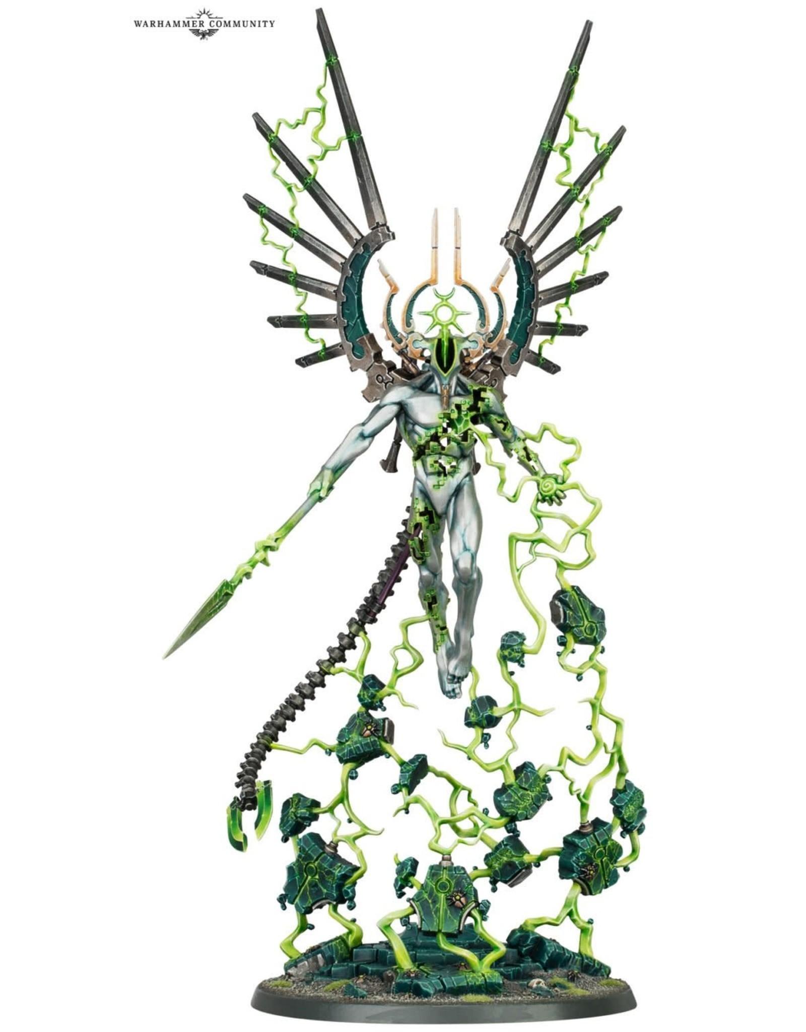 Warhammer 40k NECRONS: C'TAN SHARD OF THE VOID DRAGON *DATE DE SORTIE 24 OCTOBRE*