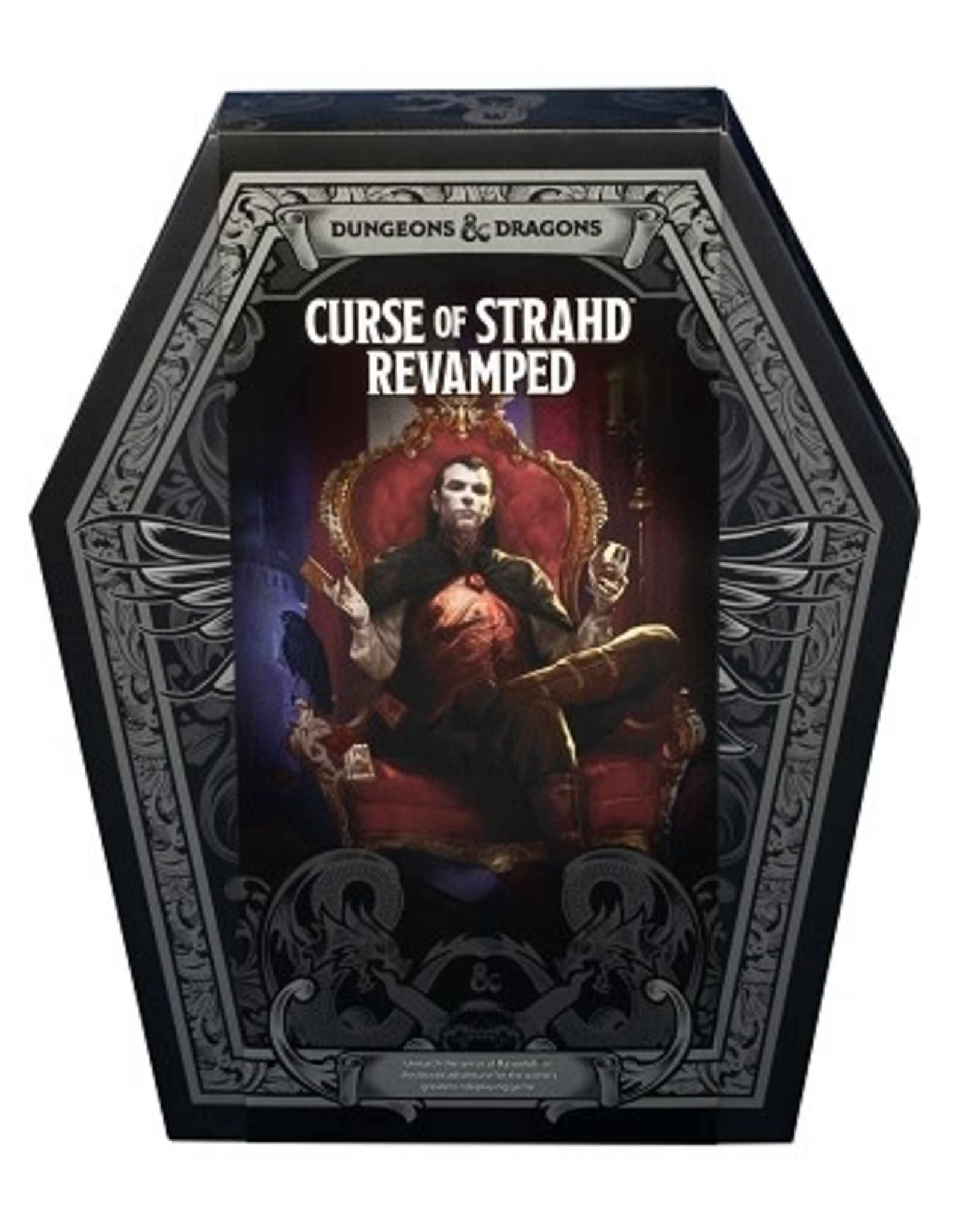 Wizards of the Coast DND RPG CURSE OF STRAHD REVAMPED