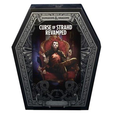 DND RPG CURSE OF STRAHD REVAMPED