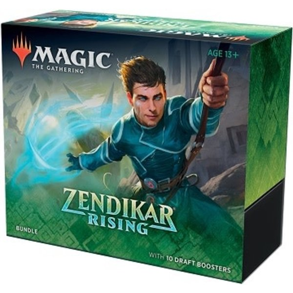 Wizards of the Coast MTG ZENDIKAR RISING BUNDLE