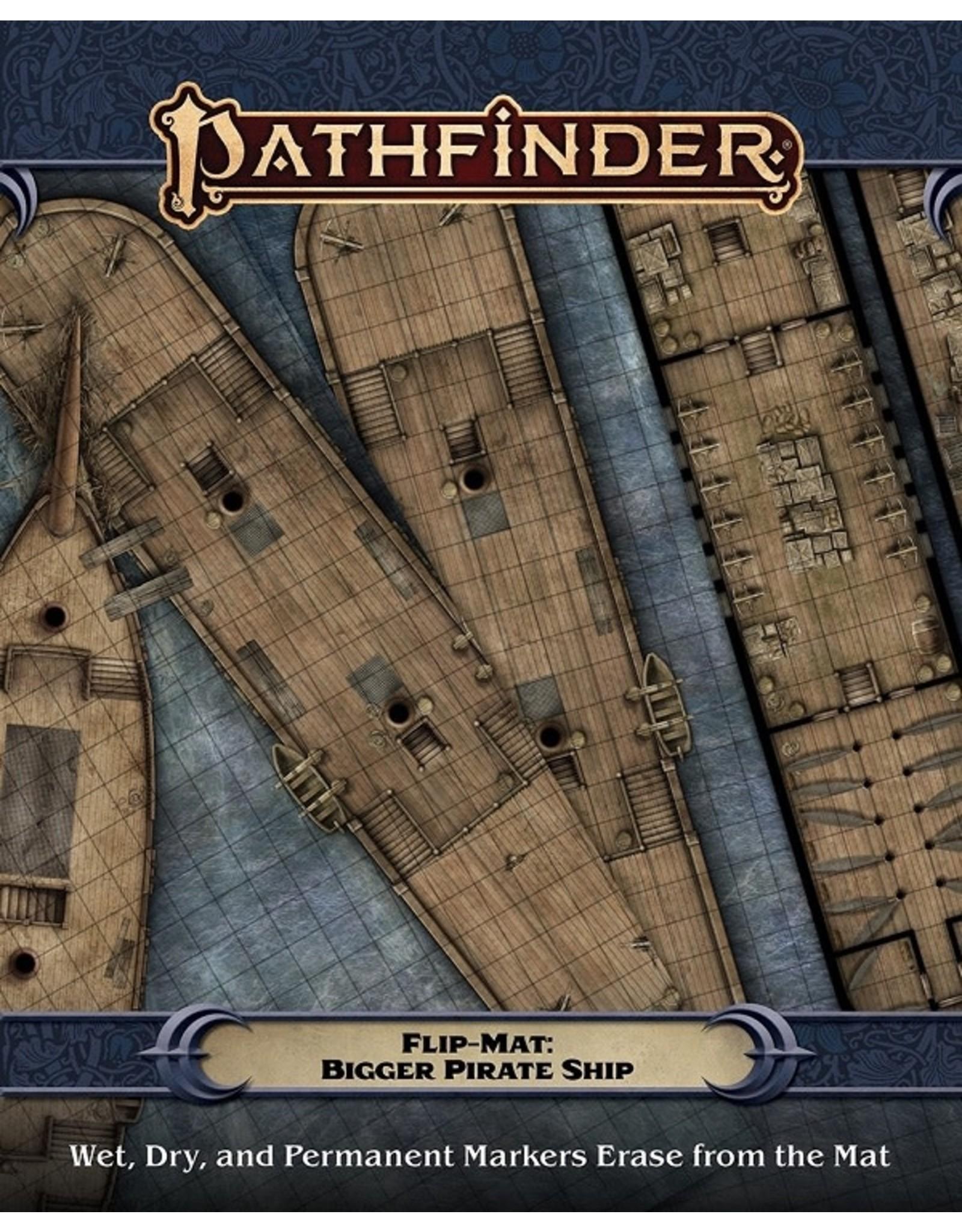 Paizo PF FLIP-MAT: BIGGER PIRATE SHIP