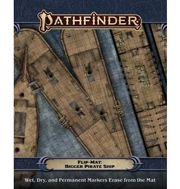 Paizo PF FLIP-MAT: BIGGER PIRATE SHIP