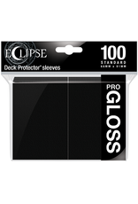 Ultra Pro UP D-PRO ECLIPSE GLOSS JET BLACK 100CT