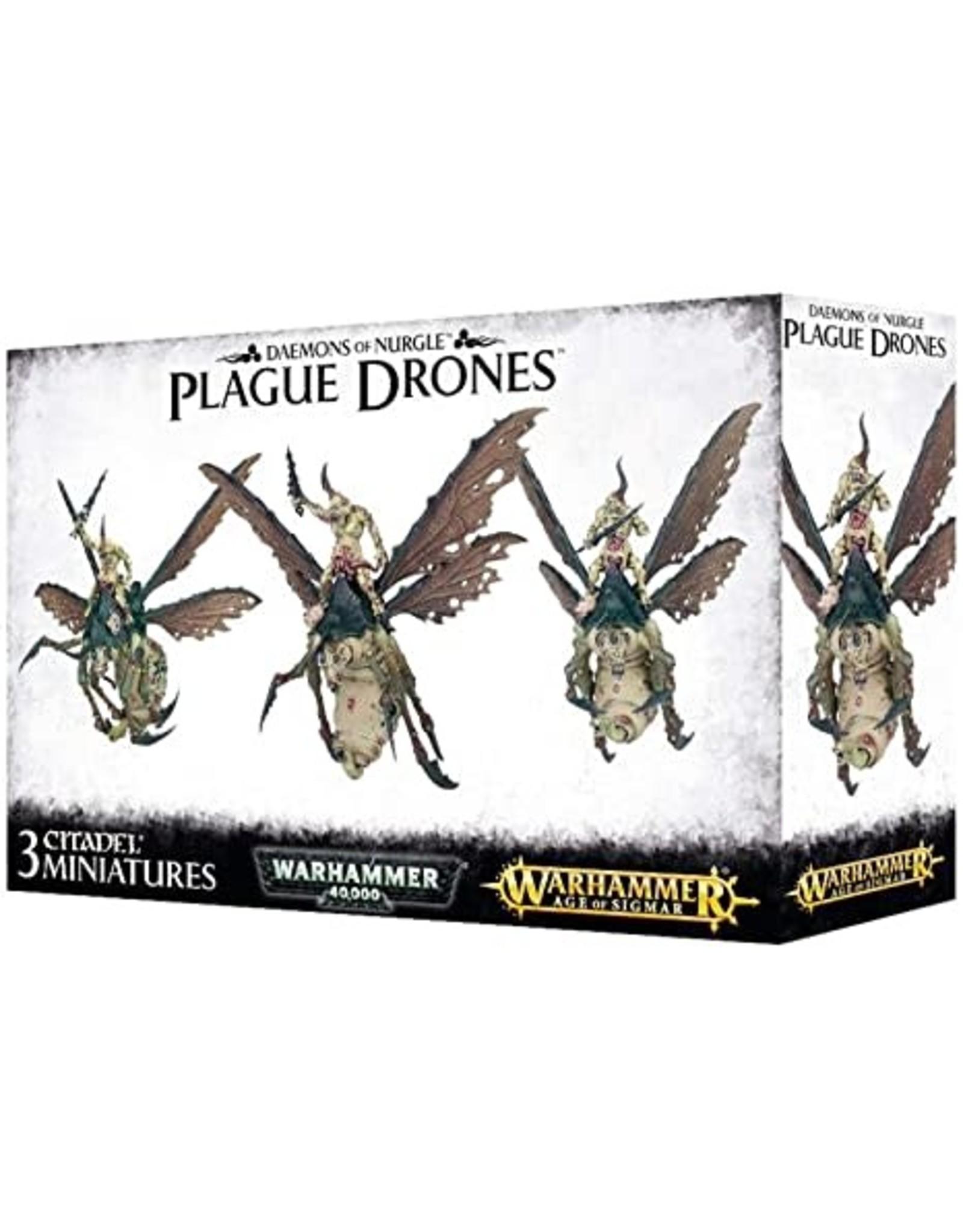 Age of Sigmar DAEMONS OF NURGLE PLAGUE DRONES