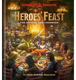 Wizards of the Coast HEROES' FEAST DUNGEONS & DRAGONS COOKBOOK