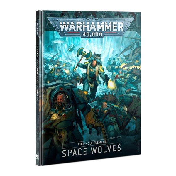 Warhammer 40k CODEX: SPACE WOLVES (ENGLISH)