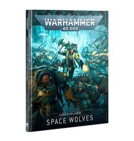 Warhammer 40k CODEX: SPACE WOLVES (FRANÇAIS)