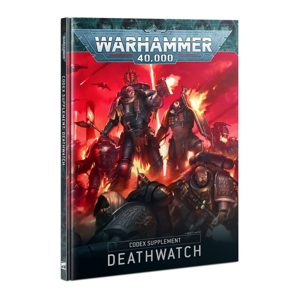 Warhammer 40k CODEX: DEATHWATCH (ENGLISH)