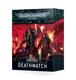 Warhammer 40k DATACARDS: DEATHWATCH (ENGLISH)
