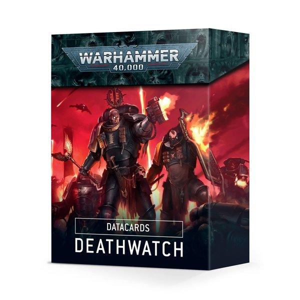 Warhammer 40k DATACARDS: DEATHWATCH (ENGLISH)