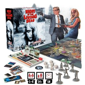 CMON ZOMBICIDE - NIGHT OF THE LIVING DEAD KICKSTARTER EDITION (ENG) (with Dead of Night)