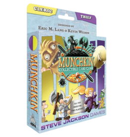 Steve Jackson Games Munchkin Collectible Card Game (Cleric/Theif)