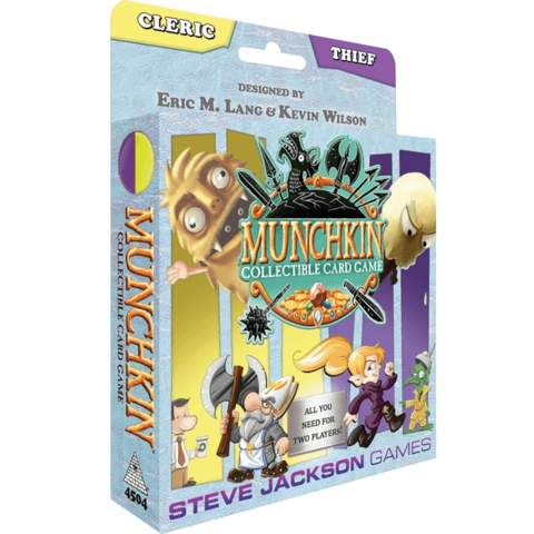 Munchkin Collectible Card Game (Cleric/Theif)