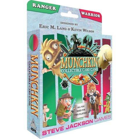 Munchkin Collectible Card Game (Ranger/Warrior)