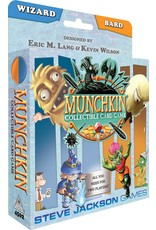 Steve Jackson Games Munchkin Collectible Card Game (Wizard/Bard)
