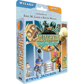 Steve Jackson Games Munchkin Collectible Card Game (Wizard/Bard)