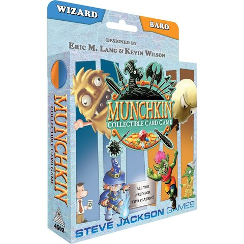 Munchkin Collectible Card Game (Wizard/Bard)