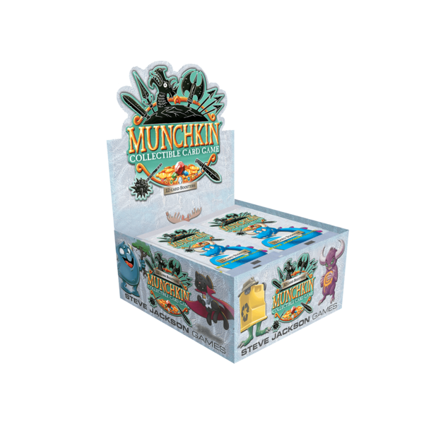 Steve Jackson Games Munchkin Collectible Card Game Booster