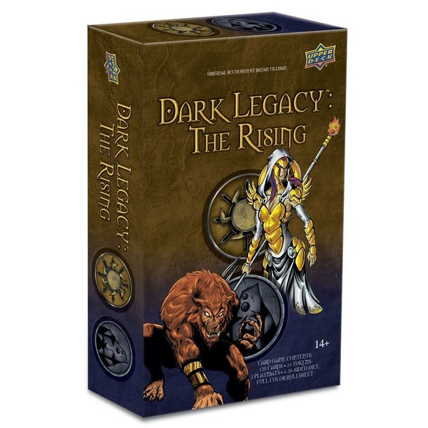 Upper Deck Dark Legacy The Rising Darkness vs Divine