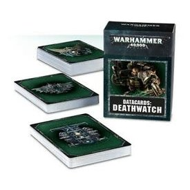 Games Workshop Warhammer 40K  Datacards: Deathwatch (8th ed)