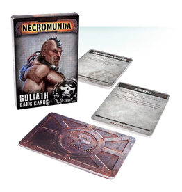 Games Workshop Necromunda Goliath Gang Cards