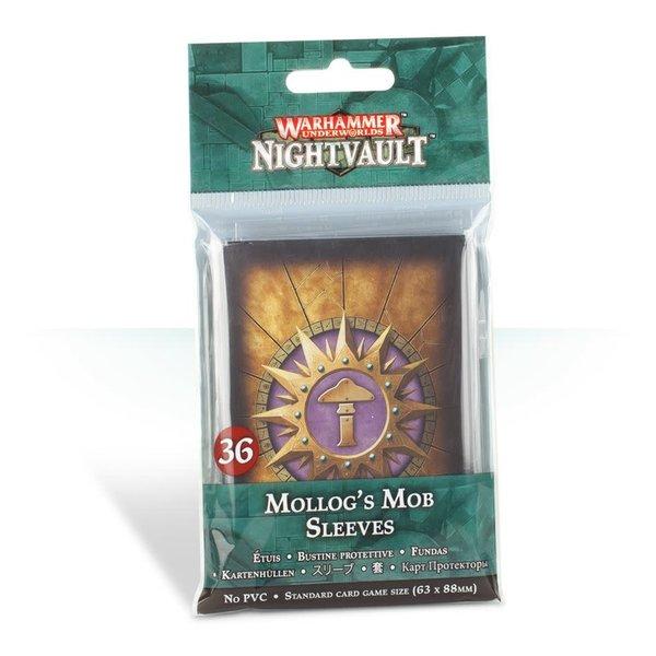 Games Workshop Nighvault Mollog's Mob Sleeves