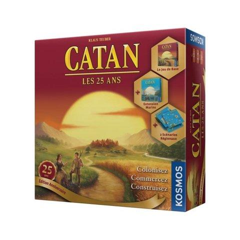 CATAN - ÉDITION 25 ANS (avec Marins + 2 Scénarios)  (FR)
