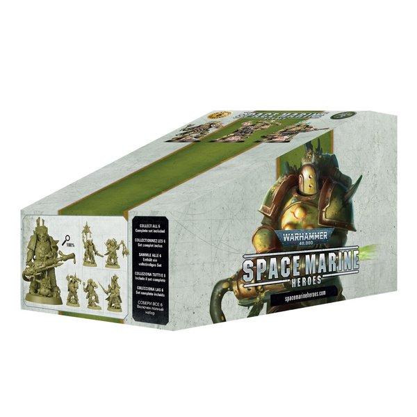 Warhammer 40k SPACE MARINE HEROES SERIES 3 -  BOOSTER PACK (1)