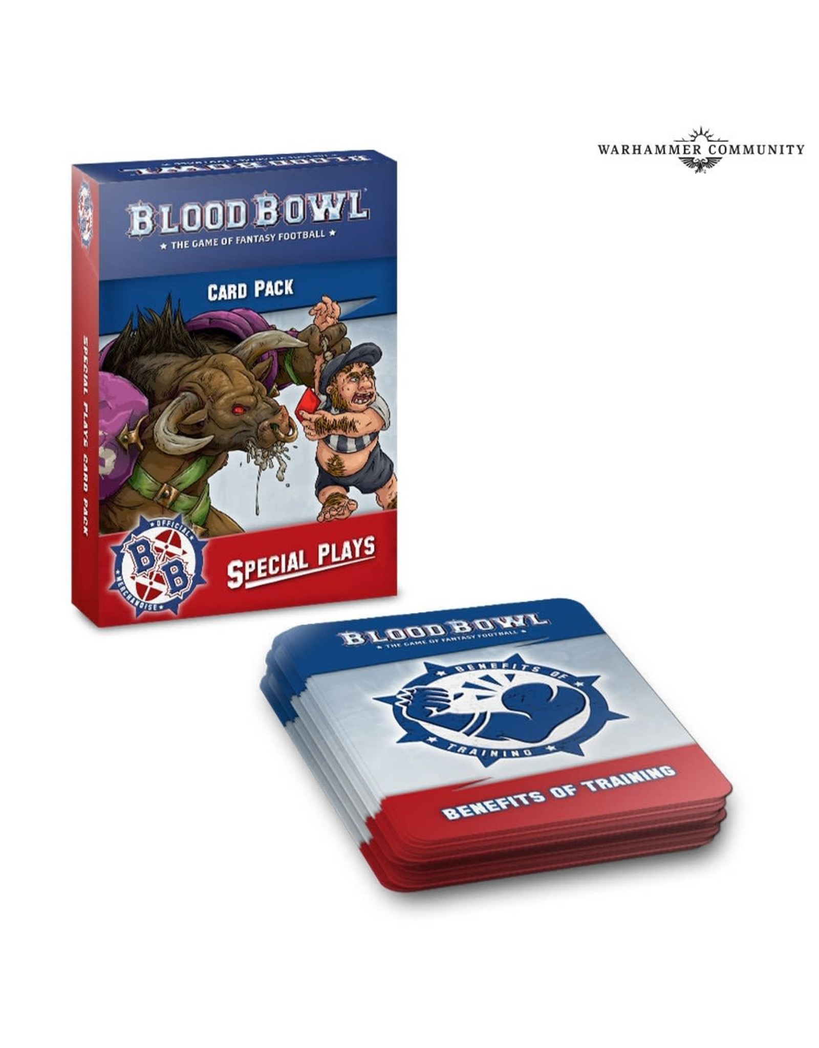Blood Bowl BLOOD BOWL SPECIAL PLAYS CARDS