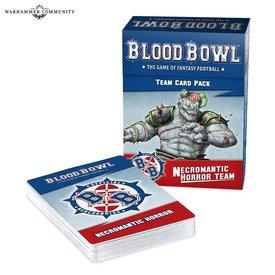 Blood Bowl BLOOD BOWL NECROMANTIC TEAM CARDS