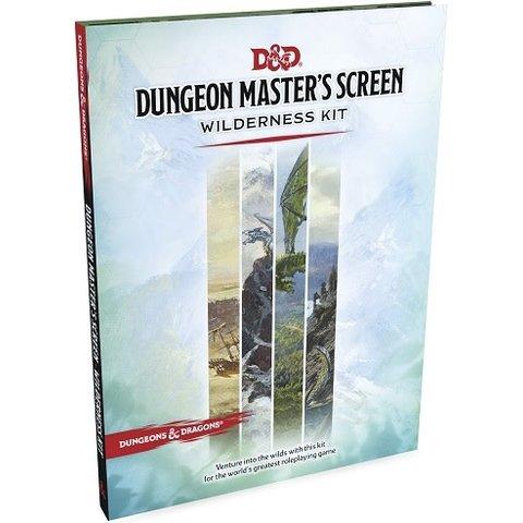 DND RPG DUNGEON MASTER'S SCREEN WILDERNESS KIT
