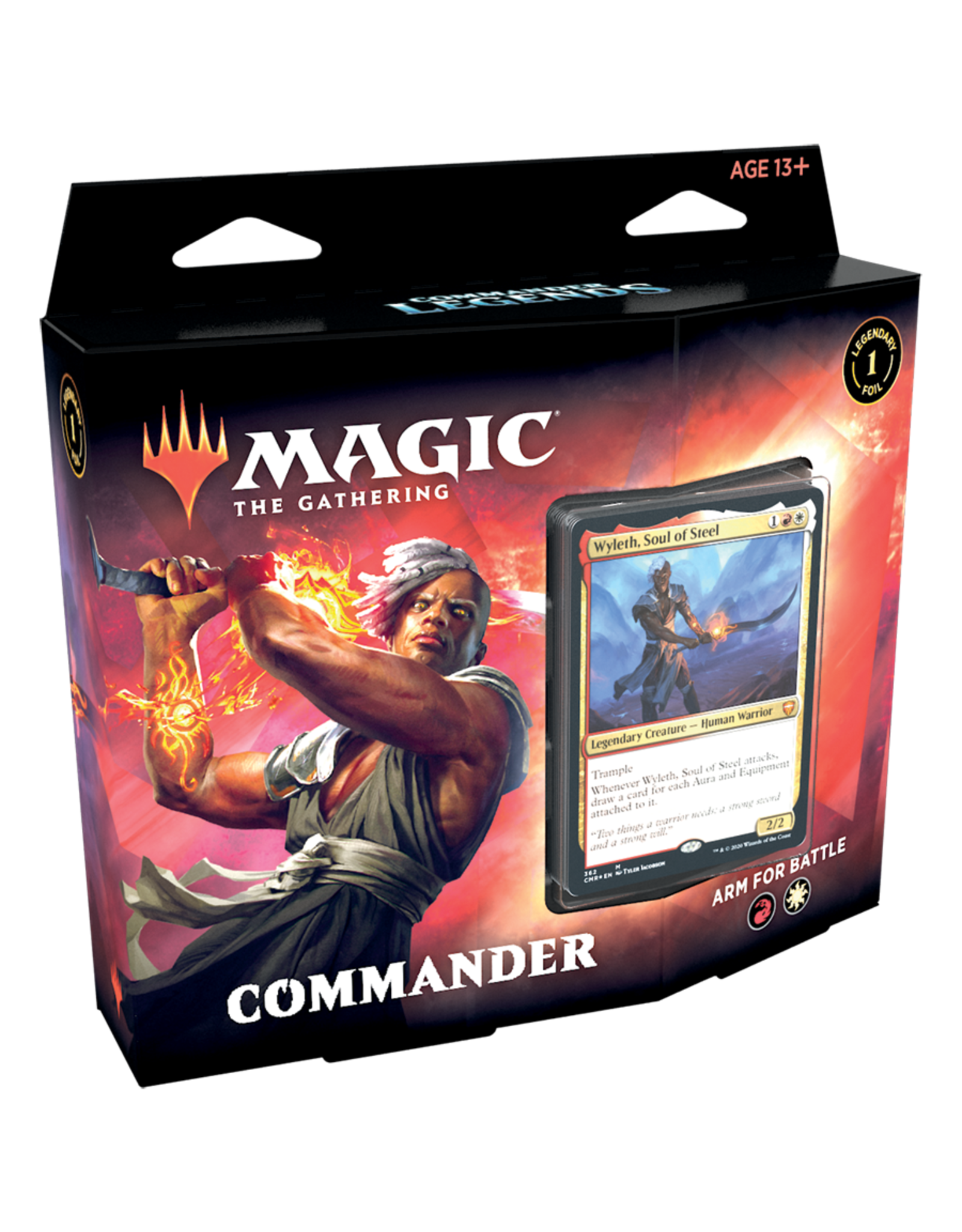 Wizards of the Coast MTG COMMANDER LEGENDS DECK - Arm for Battle
