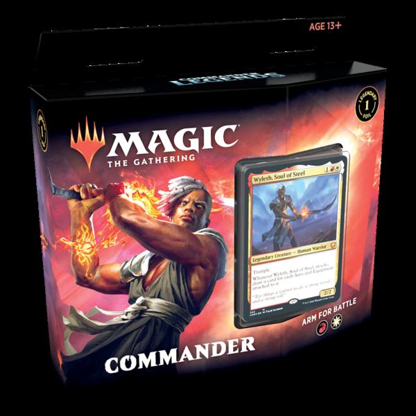 Wizards of the Coast MTG COMMANDER LEGENDS DECK - Arm for Battle