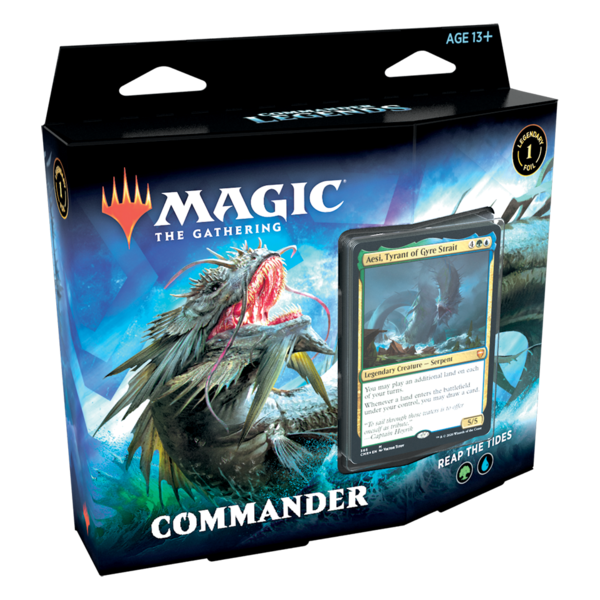 Wizards of the Coast MTG COMMANDER LEGENDS DECK - Reap the Tides