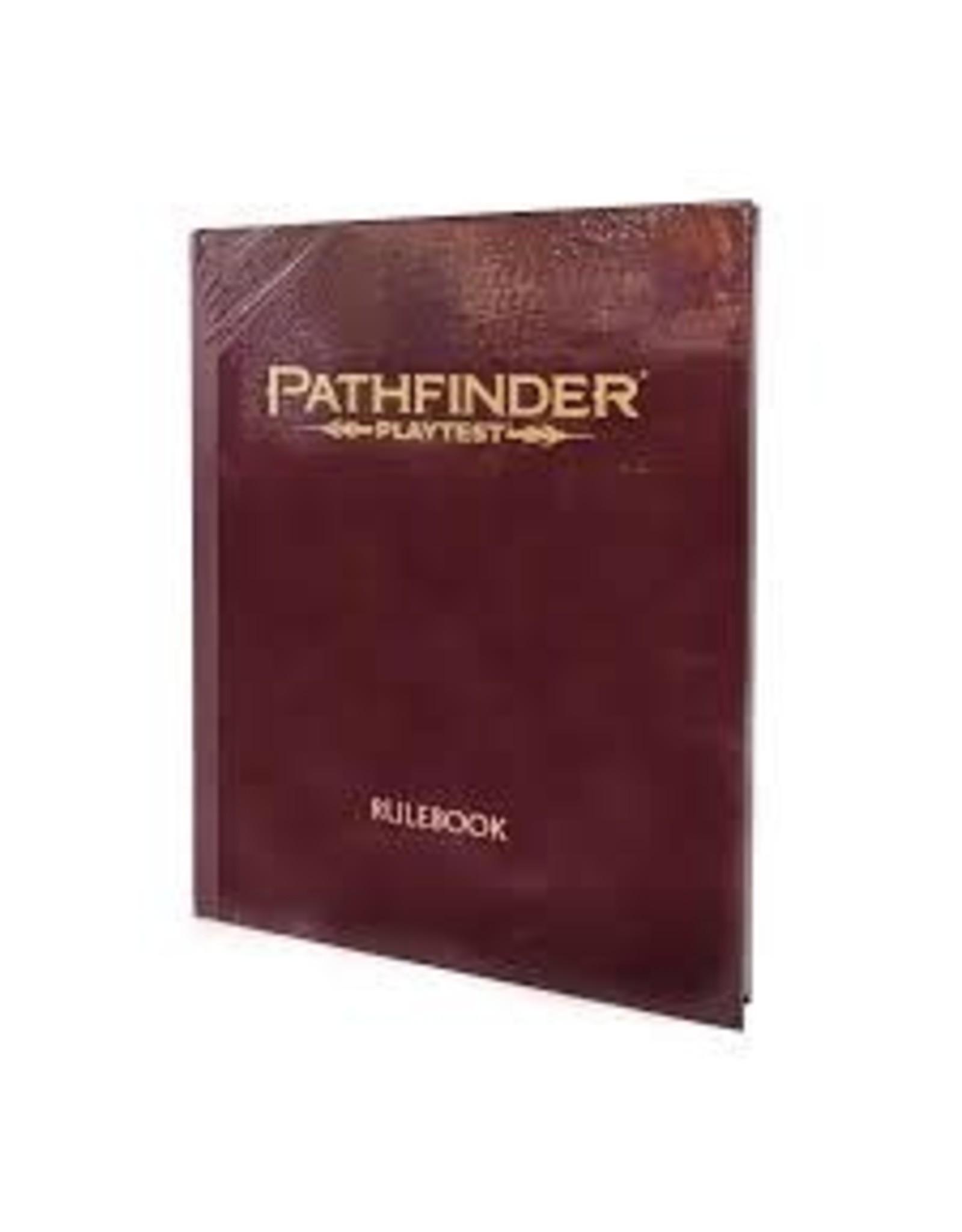 Paizo Pathfinder Playtest Rulebook