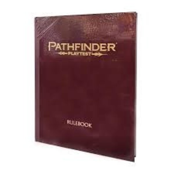 Paizo Pathfinder Playtest Rulebook
