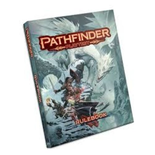 Paizo Pathfinder Playtest Rulebook Hard Cover