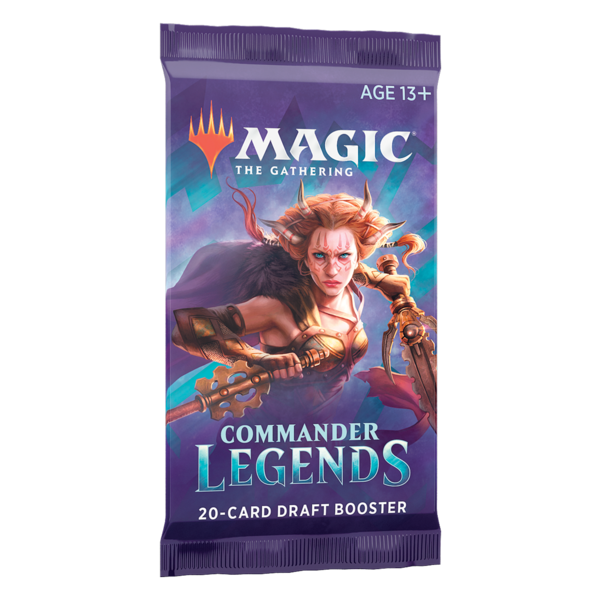 Wizards of the Coast MTG COMMANDER LEGENDS DRAFT BOOSTER PACK