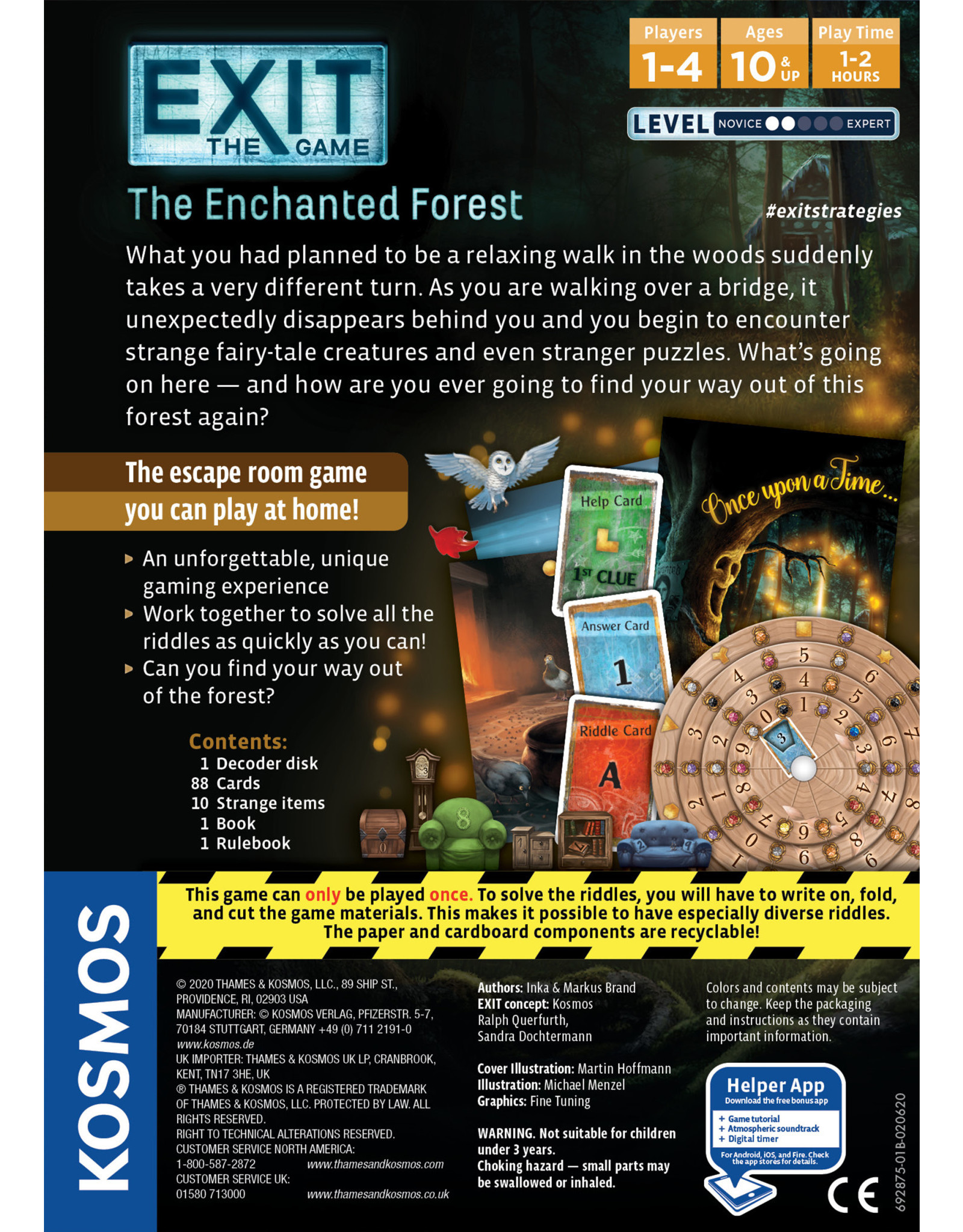 KOSMOS EXIT: THE ENCHANTED FOREST (English)