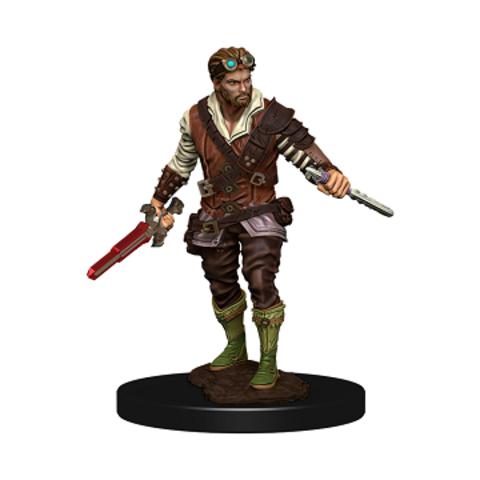 DND ICONS: HUMAN ROGUE MALE PREMIUM FIG