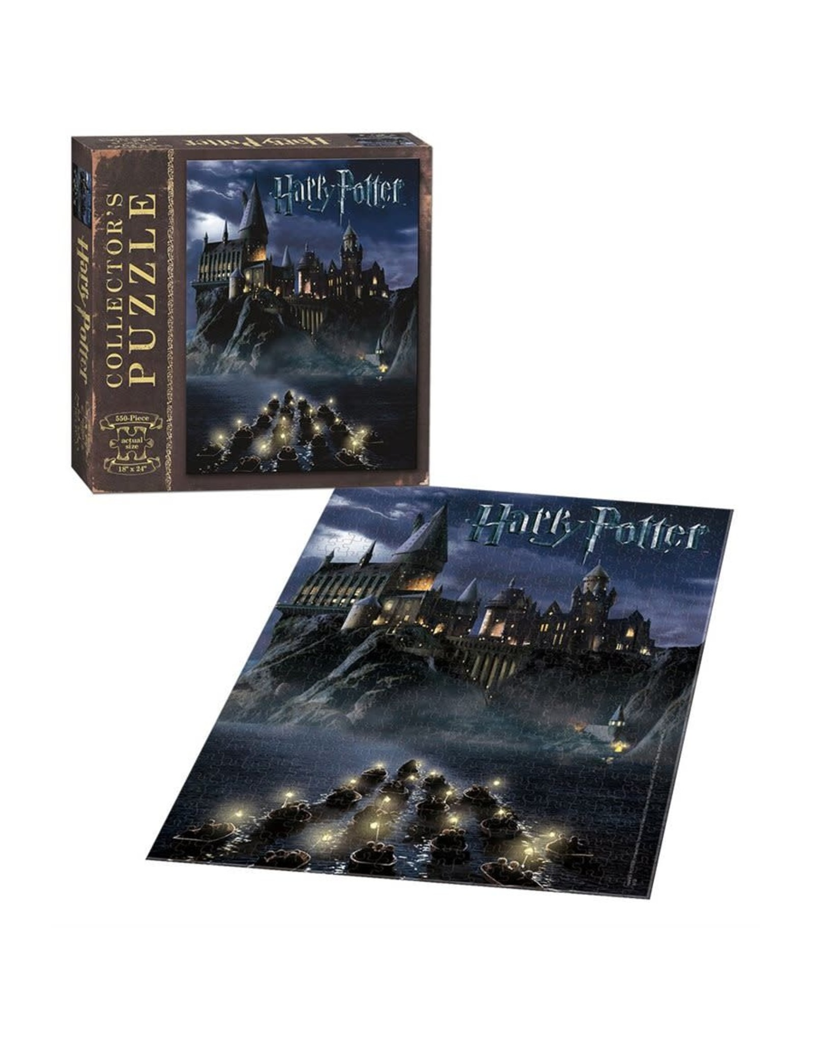 Usaopoly Puzzle: 550 World of Harry Potter