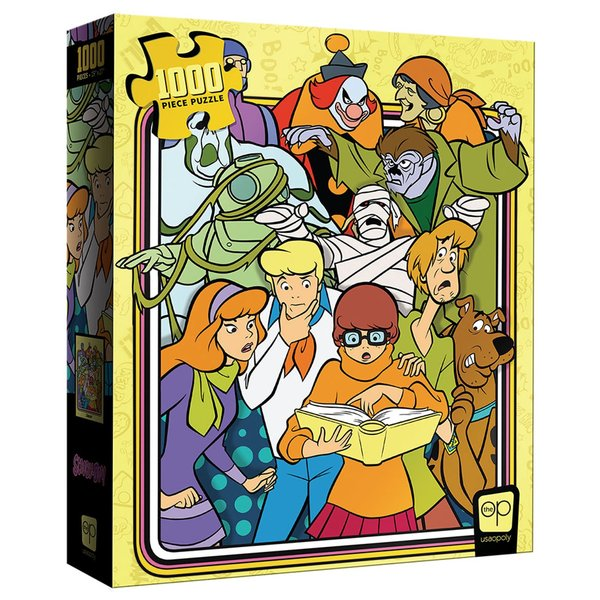 """Usaopoly Puzzle: 1000 Scooby-Doo! """"Those Meddling Kids!"""""""