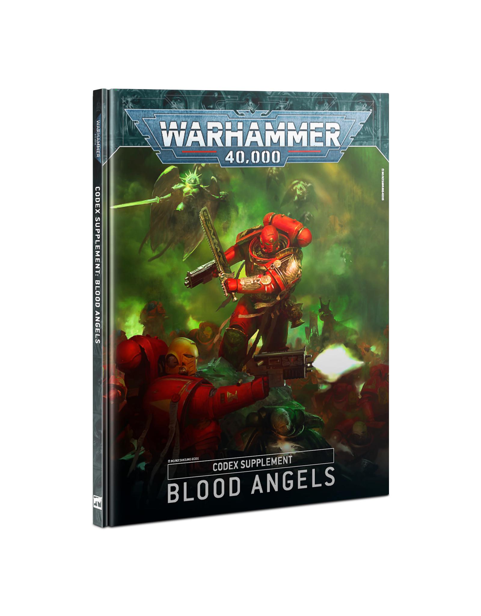 Warhammer 40k CODEX: BLOOD ANGELS (FRENCH)