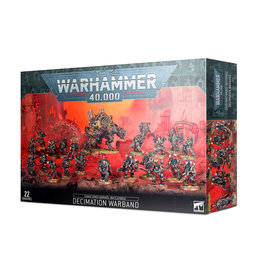 Warhammer 40k CHAOS SPACE MARINES: DECIMATION WARBAND *DATE DE SORTIE 5 DÉCEMBRE*