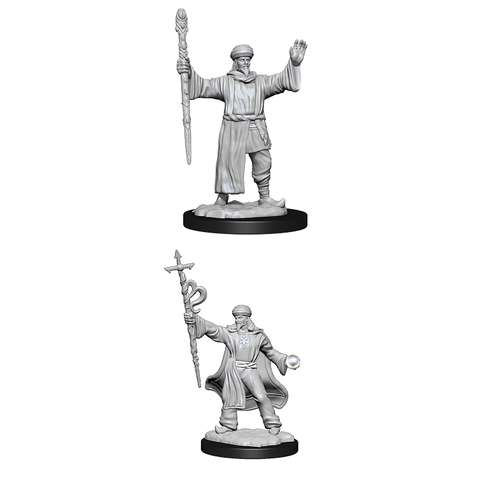 DND UNPAINTED MINIS WV13 HUMAN WIZARD MALE